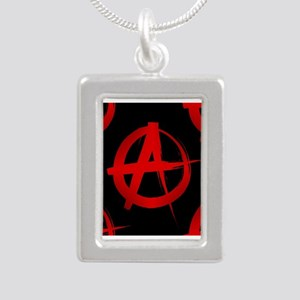 anarchy sign Necklaces