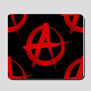 anarchy sign Mousepad