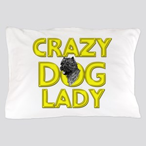 Crazy Dog Lady Pillow Case