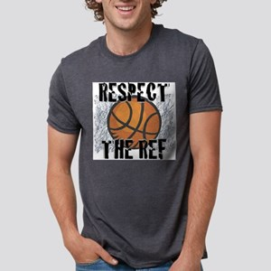 Respect the Basketball Ref Ash Grey T-Shirt