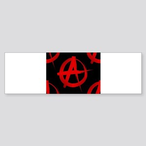 anarchy sign Bumper Sticker