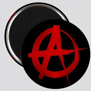 anarchy sign Magnets