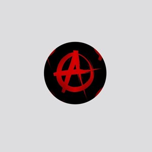 anarchy sign Mini Button