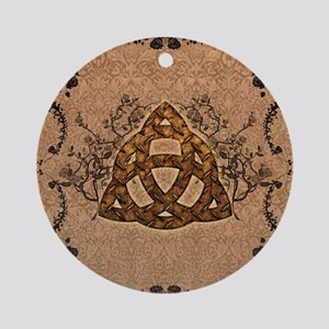 The celtic sign Round Ornament