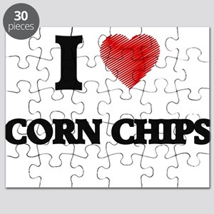 I Love Corn Chips Puzzle