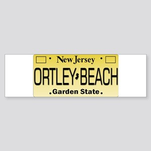 Ortley Beach NJ Tag Gifts Bumper Sticker