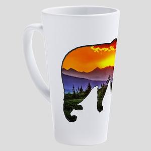 BEAR RISING 17 oz Latte Mug