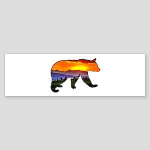 BEAR RISING Bumper Sticker