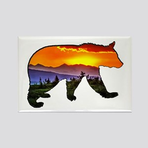 BEAR RISING Magnets