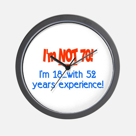 Funny Insanity1 Wall Clock
