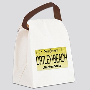 Ortley Beach NJ Tag Gifts Canvas Lunch Bag