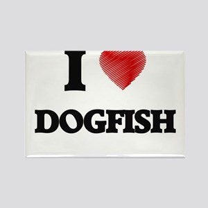 I Love Dogfish Magnets