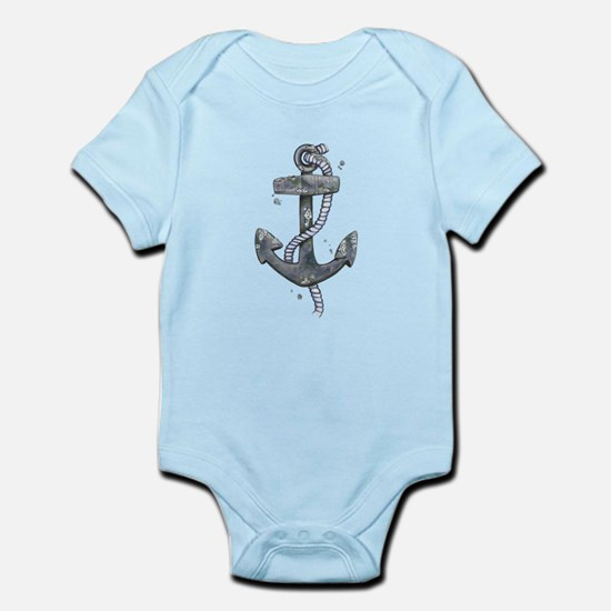 Anchor with Barnicles Body Suit