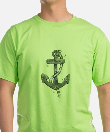 Anchor with Barnicles T-Shirt