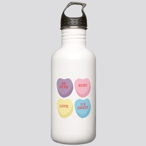 Conversation Hearts Stainless Water Bottle 1.0L