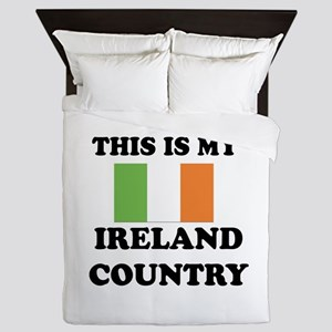 This Is My Ireland Country Queen Duvet