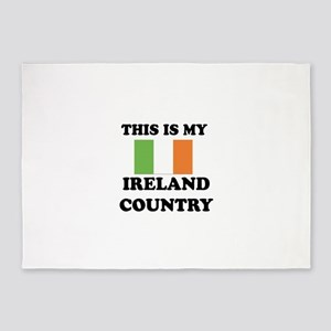 This Is My Ireland Country 5'x7'Area Rug
