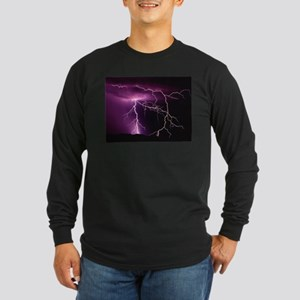 Purple Thunder Long Sleeve T-Shirt