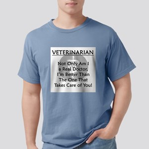 Veterinarian A Real Doctor T-Shirt