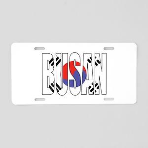 Busan Aluminum License Plate
