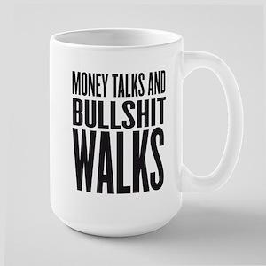 MONEY TALKS Stainless Steel Travel Mugs