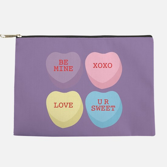 Conversation Hearts Makeup Bag