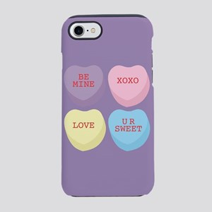 Conversation Hearts iPhone 8/7 Tough Case