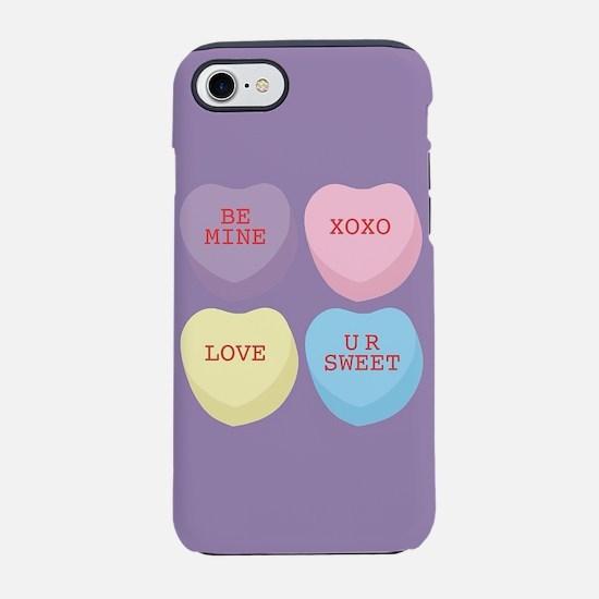Conversation Hearts iPhone 8/7 Tough Case