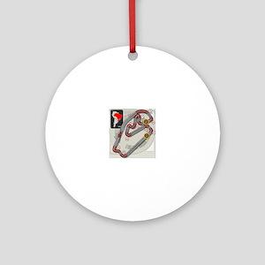 Brazilian Grand Prix Round Ornament