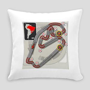 Brazilian Grand Prix Everyday Pillow