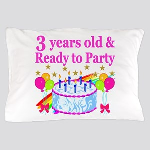 3RD BIRTHDAY Pillow Case