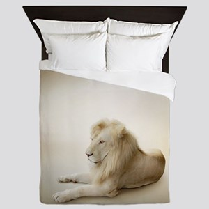 White Lion Queen Duvet