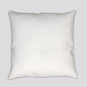 Keep Calm and Love CHUCK Everyday Pillow