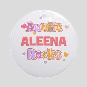 Aleena Ornament (Round)