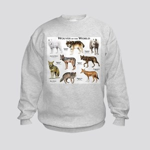 Wolves of the World Sweatshirt