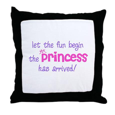 Let the Fun Begin Throw Pillow