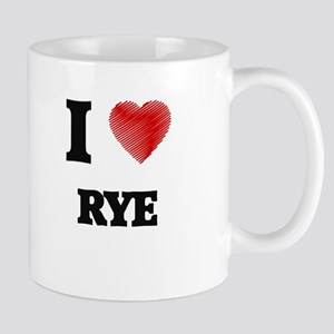 I Love Rye Mugs