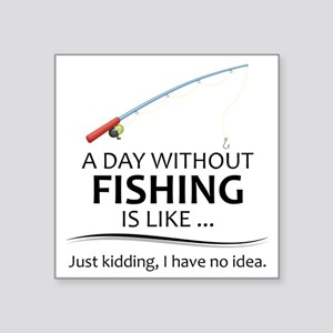 Fishing Gifts for Fishermen Lovers Sticker