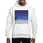 71.learnin' to fly/bluedge...? Hooded Sweatshirt