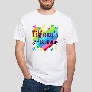 CUSTOM 3RD White T Shirt