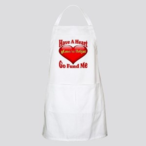 Have A Heart Go Fund Me Light Apron