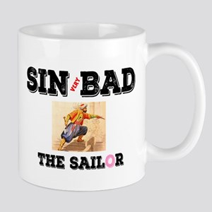 SIN(VERY)BAD THE SAILOR! Mugs