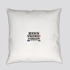 BEEN THERE! - ALCATRAZ ISLAND - SA Everyday Pillow