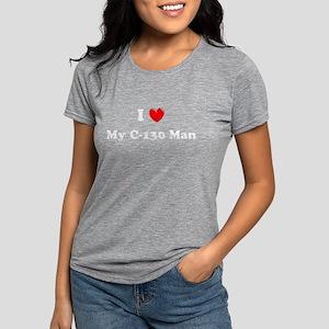 Heart C-130 Women's Dark T-Shirt