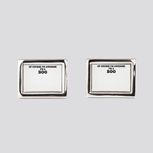 Of course I'm Awesome, Im BO Rectangular Cufflinks