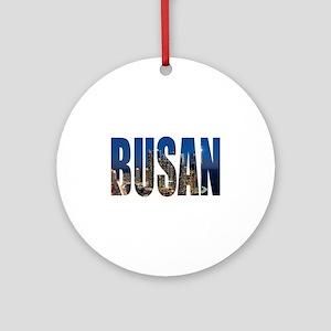 Busan Round Ornament