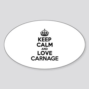 Keep Calm and Love CARNAGE Sticker