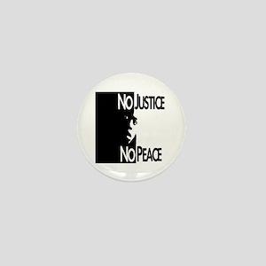 No Justice No Peace Mini Button