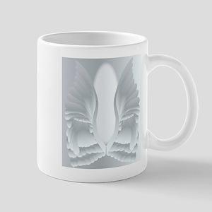 Silver Angel Wings Mugs