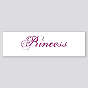 26. Princess Bumper Sticker
